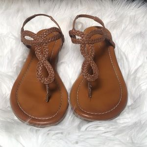 Shoes - Saddle brown sandals